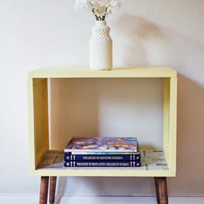 Upcycled Vintage Nightstand